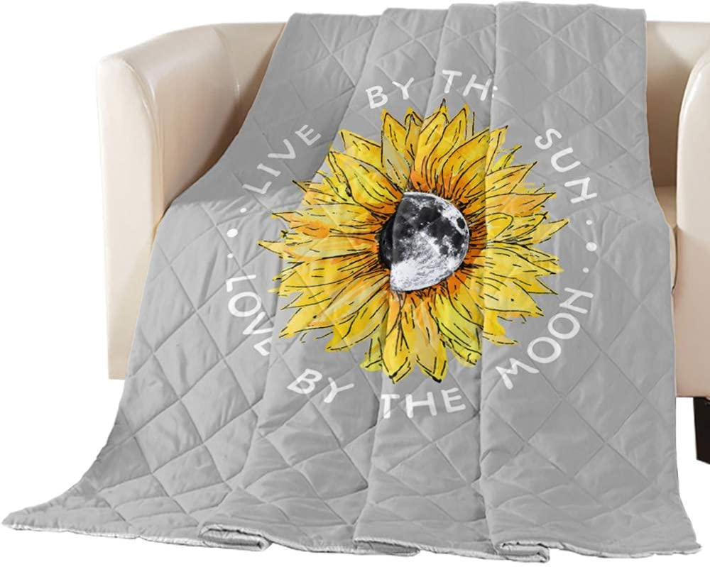TweetyBed Cotton Quilted Comforter Sunflower Moon Throw List price Challenge the lowest price of Japan