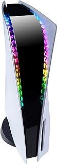 eXtremeRate Taśma świetlna LED RGB do konsoli PlayStation 5, 7 kolorów 29 efektów DIY akcesoria dekoracyjne elastyczna taś...