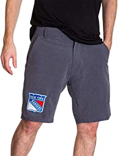 Calhoun NHL Mens 4-Way Stretch Performance Shorts