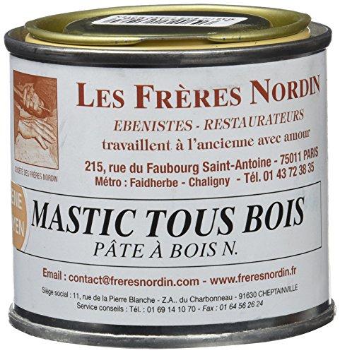 Les Frères Nordin 416103 Mastic à Bois Pro Chêne Moyen