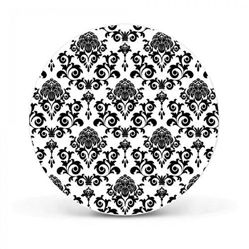 Design Magnettafel von banjado   Pinnwand magnetisch 47cm Ø   Memoboard mit Motiv Barock  ...