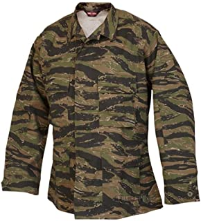 Tru-Spec BDU Coat CP Twill Vietnam Tiger Stripe L-Reg 1619005