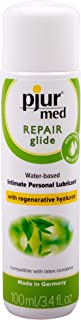 Pjur Med REPAIR Glide Water-Based Condom Safe Personal Lubricant 3.4 Ounce / 100 Milliliter w/ Tasty Tingle Gel
