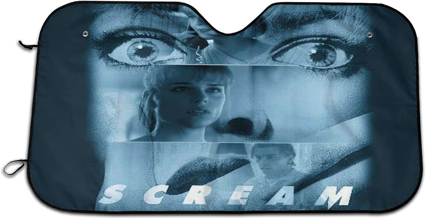 Sc-Ream Horror Movie Car Sunshade Printing Snow Cover Visor Philadelphia Mall Phoenix Mall