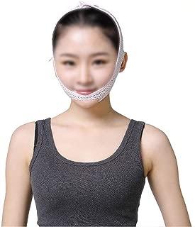 XIANWEI Masque Amincissant Visage Mince avec Double Menton Ceinture Levage Visage avec Massage Anti-age Anti-Rides Sommeil