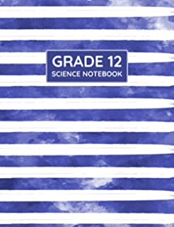 Grade 12 Science Notebook: Primary Composition Lined Pages with College Ruled Papers for Note-Taking: Reminder of Due Date...