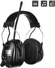 elektronischer Geh/örschutz zur Ger/äuschreduzierung f/ür Rasenm/äher Holzf/äller S/ägen FM MP3 Bluetooth-Radio-Geh/örschutz kabellose Kopfh/örer mit integriertem Mikrofon Bedienen von Maschinen usw.