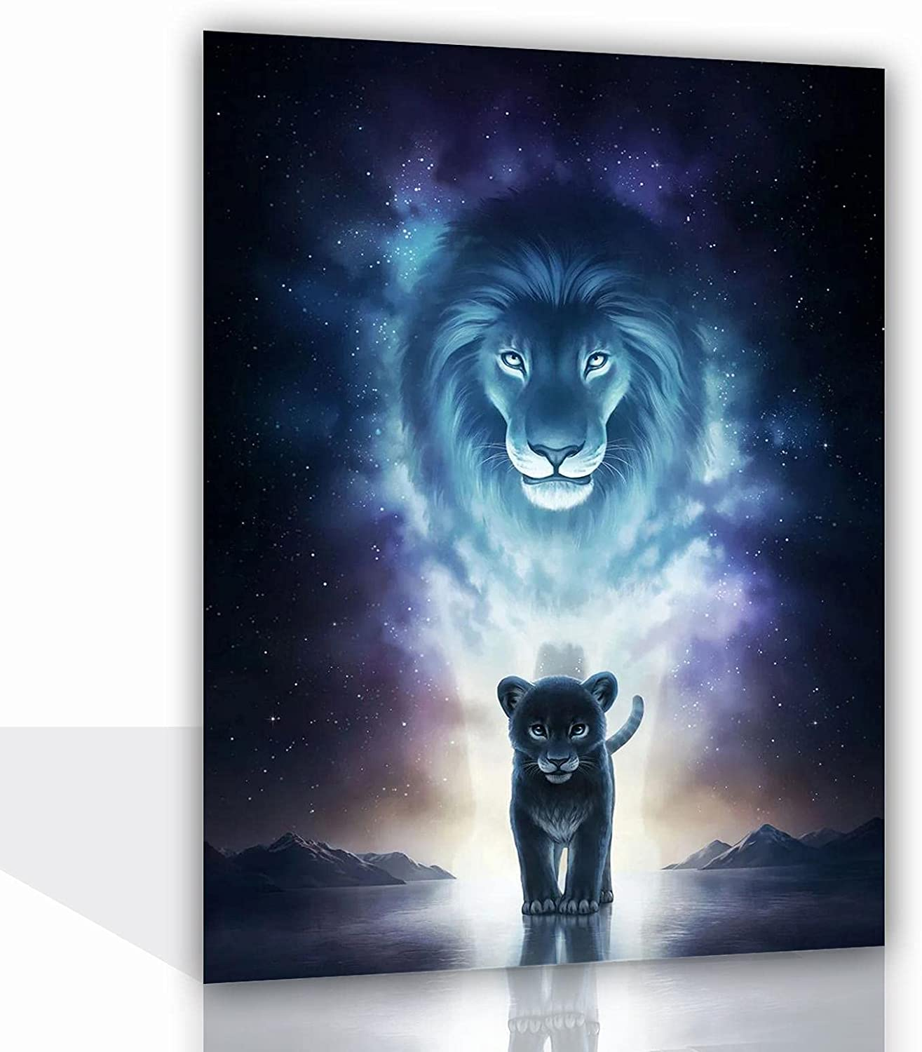 RUFULI A Kings Path Poster Modern Oil Pain Picture Framed NEW before selling ☆ Canvas sold out