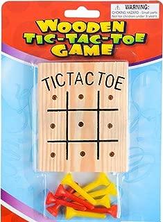 Rhode Island Novelty Wooden Tic-Tac-Toe Games 1 Dozen