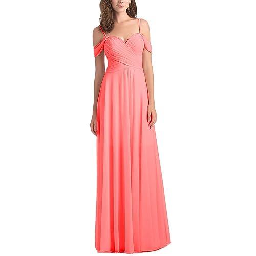 6f38edf285 Coral Bridesmaid Dresses: Amazon.com