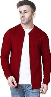 Veirdo Cotton Jacket for Men - Maroon
