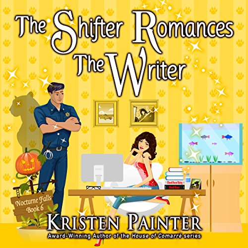 The Shifter Romances the Writer audiobook cover art