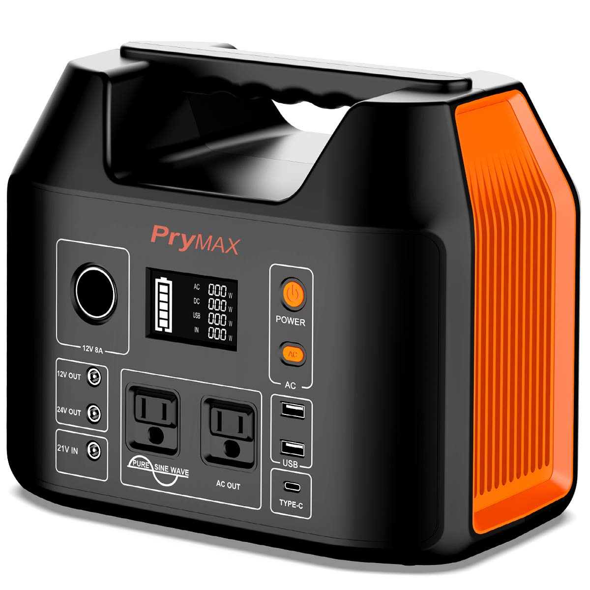 PRYMAX Portable Generator Flashlight Outdoors
