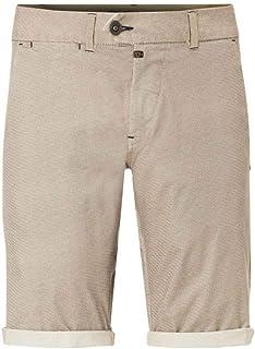 TIMEZONE Bermuda Shorts w40 Neuf Hommes Beige Pantalon Court Pants Coton TZ Chino