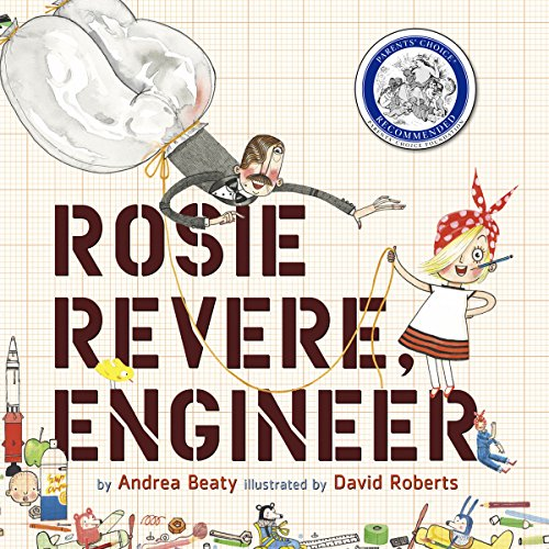 Rosie Revere, Engineer audiobook cover art