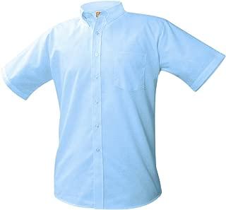 A+ Boys Short Sleeve School Uniform Oxford Shirt