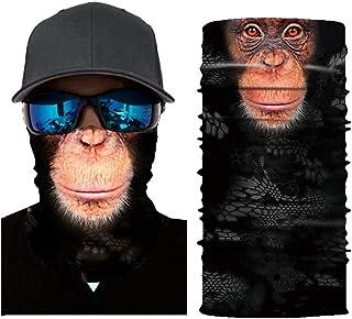 Seamless Face Mask Bandana Rave Neck Gaiter Scarf Face Cover Women Men Dust UV Headwear Shield Magic Outdoor Balaclava Hea...