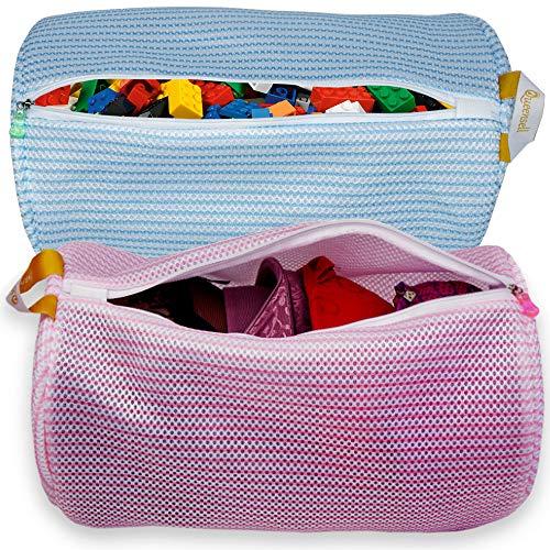 Laundry Bag – Mesh Laundry Bag for Delicates – Mesh Bags for Laundry - Lingerie Bag Large - Delicates Bag for Washing Machine - Wash Bag for Bra Garment Shoe Socks - Travel Laundry Bags – Set of 2