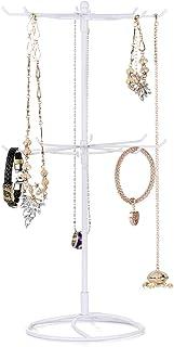 Pumpumly Estante de exhibición de la joyería de 4PCS para los pendientes, collar de los pendientes de los pendientes del o...