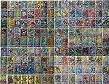 Blesser Cartes Pokémon, Cartes à Collectionner Pokemon GX, 120 pièces de Cartes Pokemon avec 109 Cartes Pokémon GX et 11 Cartes Pokémon Formateur