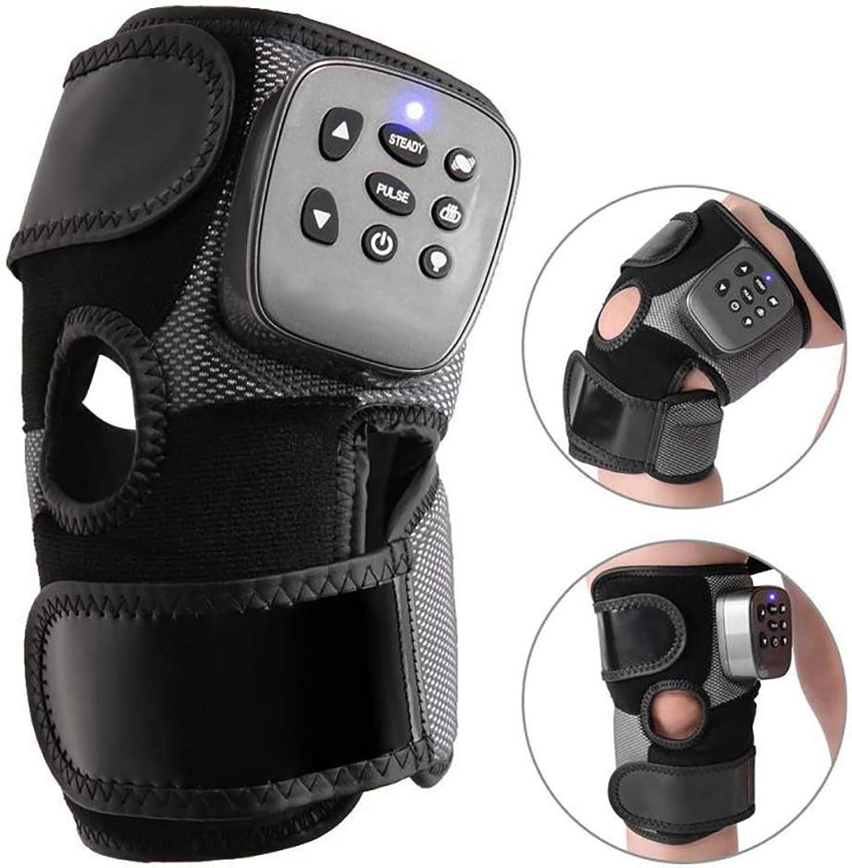 Heated Knee Brace Wrap Electric Therapy Arthritis Rheumatism