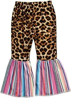 jieGorge Pantalones para niñas, Pantalones con Estampado de Leopardo para niñas pequeñas, Pantalones, Ropa Informal, Ropa ...