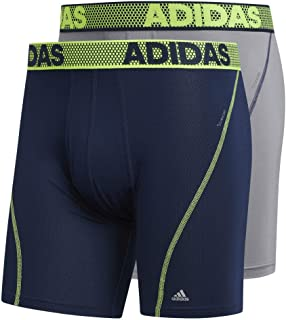 adidas Men's Sport Performance Climacool Boxer Brief Underwear (2 Pack)