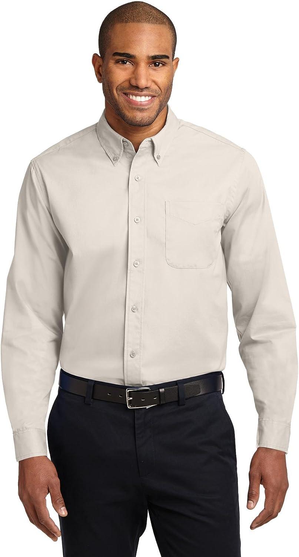 Port Authority Tall Long Sleeve Easy Care Shirt, Mediterranean Blue, XXX-Large Tall