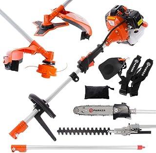 comprar comparacion 52cc Multi Función 5-en-1 Herramienta para el jardín - desbrozadora, Cortadora de cesped, motosierra, cortasetos y Más