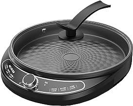 YUMEIGE Elektrische bakvorm Elektrische bakpan, huishoudelijke enkelzijdige verwarming elektrische koekenpan, pannenkoeken...