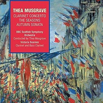 Thea Musgrave: Clarinet Concerto, The Seasons & Autumn Sonata