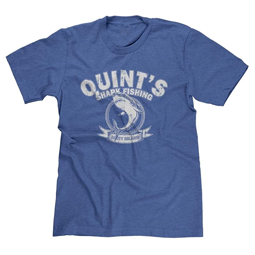 FreshRags Quints Shark Fishing Jaws Men's T-Shirt