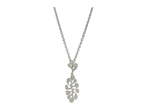 Miseno Sea Leaf Diamond Pendant Necklace in 18K White Gold SKUCn8