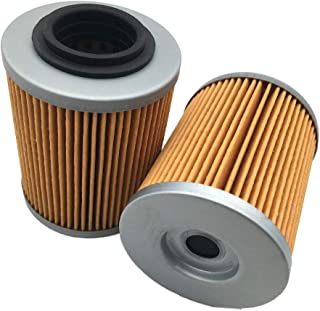 Aokus 2PCS FOR CF Moto CFMoto 0800-011300 Oil Filters Cforce Zforce Uforce 400 500 800