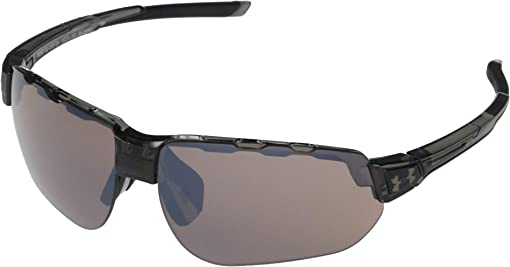 Gloss Gray Smoke Frame/Black Rubber/Tuned Road Lens