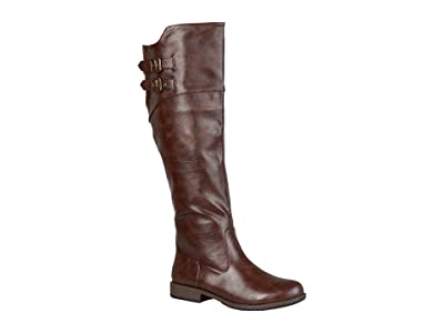 Journee Collection Tori Boot (Brown) Women
