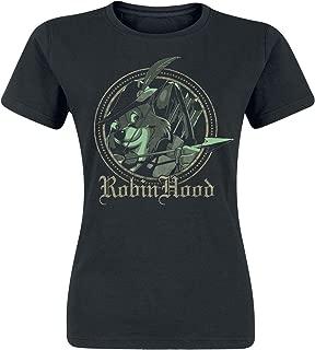 Disney Robin Hood Shirt Arrow Medieval Juniors T-Shirt