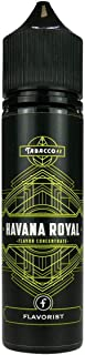 Flavorist Aromakonzentrat Tabak Royal - Havana, Shake-and-Vape zum Mischen mit Basisliquid für e-Liquid, 0.0 mg Nikotin, 15 ml