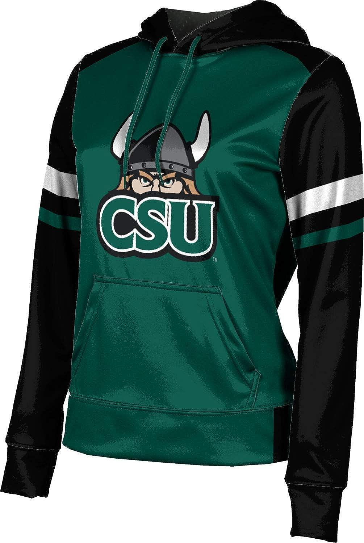 ProSphere Cleveland State University Girls' Pullover Hoodie, School Spirit Sweatshirt (Old School)