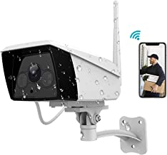 Outdoor Security Camera,Vimtag 1080P HD Home Surveillance Camera IP65 Waterproof Wireless Camera with Night Vision,Motion ...