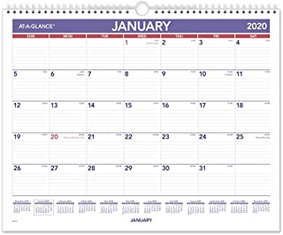 at a glance monthly wall calendar 2015