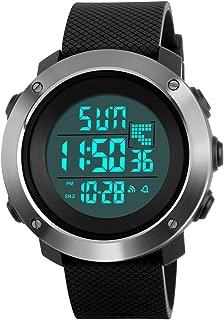 Digital Watches for Men Sports Watch Countdown Alarm Luminous Waterproof Watch