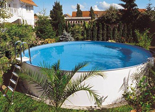 Planet Pool Rundbecken Exklusiv Ø 420x150cm (SW:0,8 IH:0,6) Einhängebiese