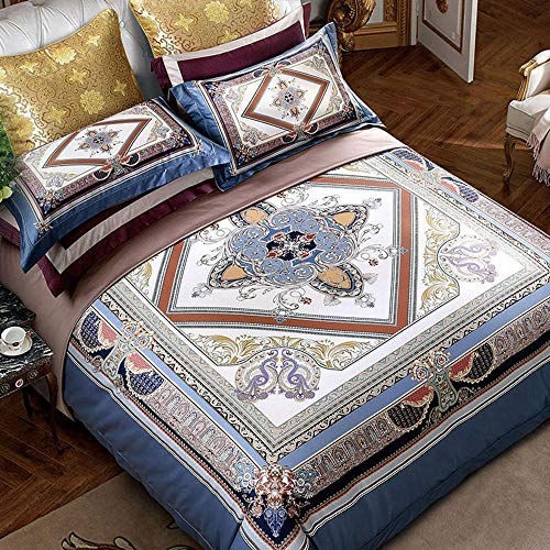 Review Creative Bedding Europe and The United States Luxury Four-Piece Villa Model Room Soft Dressin...