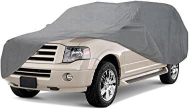 Coverking UVCSUV4I98 Universal Fit Car Cover for Large SUV (Tahoe, Expedition) - Triguard Light Weather Outdoor (Gray)