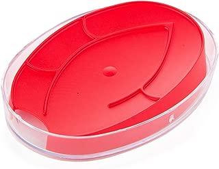 BEROSSI Eco Soap Dish, Red