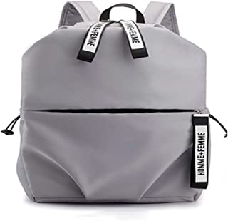 Casual Daypack,Water-Resistant Outdoor USB ChargingLaptop Backpack Travel School Backpack for Men Women Gray