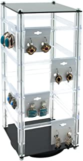 Rotating Earring Display Holds 32 Cards