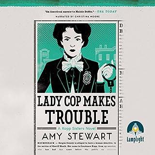Lady Cop Makes Trouble cover art