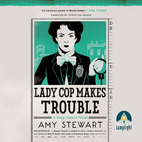 Lady Cop Makes Trouble audiobook cover art